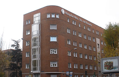 Hospital del Rosario.Consulta Dermatológica Doctora Olga Marqués