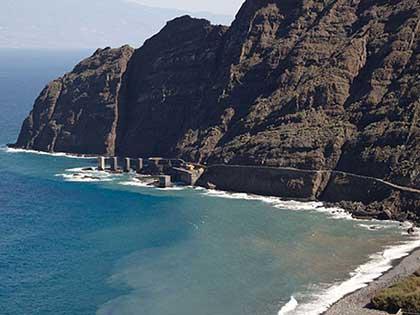La Gomera. Imagen de El barranco de Hermigua. Olga Marqués
