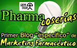 logo Blog Pharmacoserías, primer blog específico de marketing farmaceútico