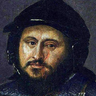 Cicatrices en el Arte. Retrato Juan Federico I de Sajonia, pintado por Tiziano.