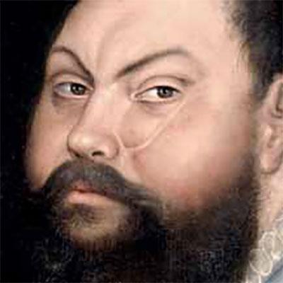 Cicatrices en el Arte. Conferencia presentación del libro.  Retrato Juan Federico de Sajonia