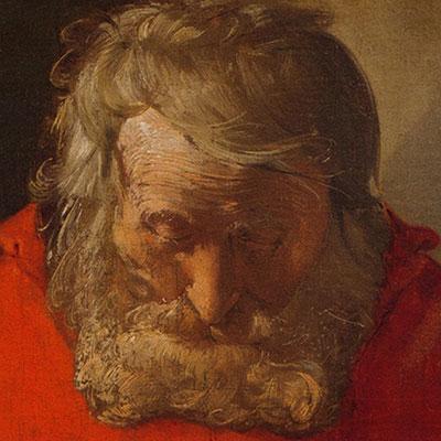 Cicatrices en el Arte. Conferencia presentación del libro.  Retrato San Jerónimo