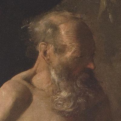Cicatrices en el Arte. Conferencia presentación del libro.  Retrato San Jerónimo 2