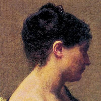 Cicatrices en el Arte. Conferencia presentación del libro.  Retrato Madame Maître 2