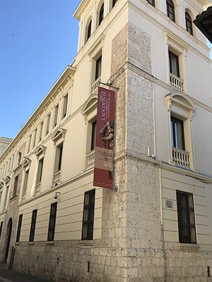 Palacio Villena, sede de la exposición