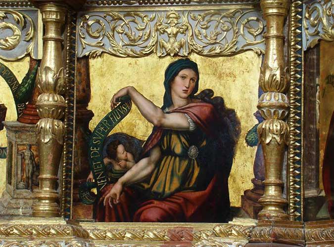 Retablo de San Pelayo, en Olivares de Duero. Detalle. Escapada Olga Marqués. Foto 6