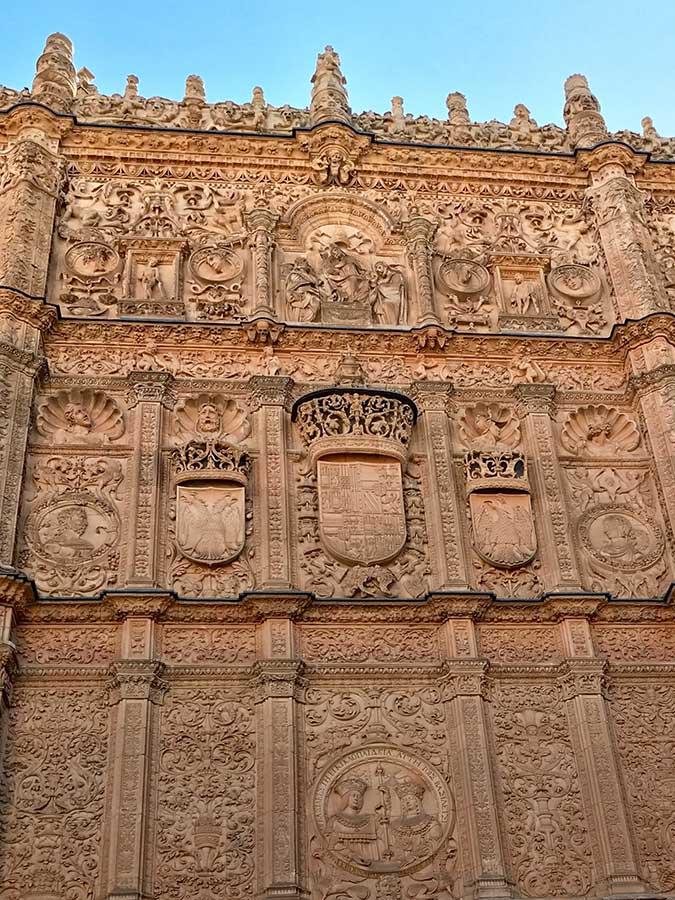 Detalle Universidad de Salamanca