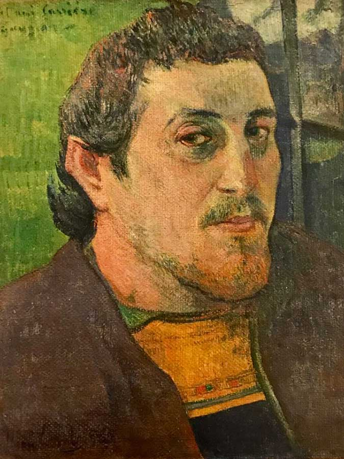 Gauguin…. Autorretrato. Foto 11