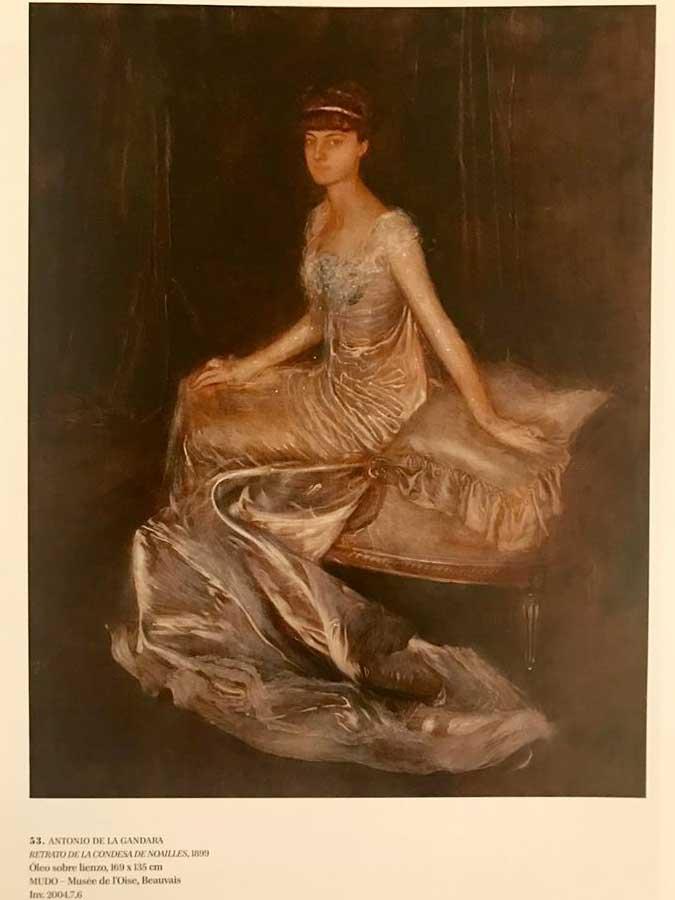 Antonio de la Gandara….Retrato de la condesa de Noailes. Foto 16