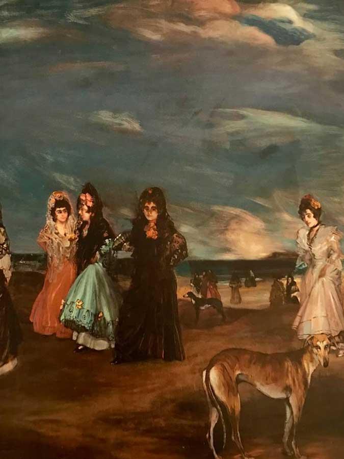 Cuatro mujeres junto del mar. Foto 3