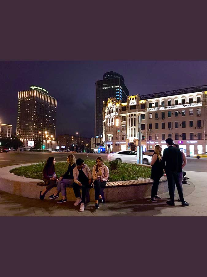 42.- Anochecer en Moscú