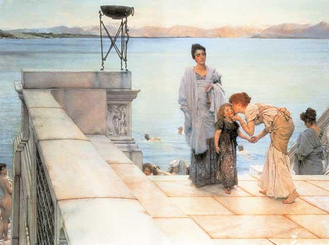 El Beso. Lawrence Alma- Tadema. Medicina, Piel y Arte. Olga Marqués Serrano