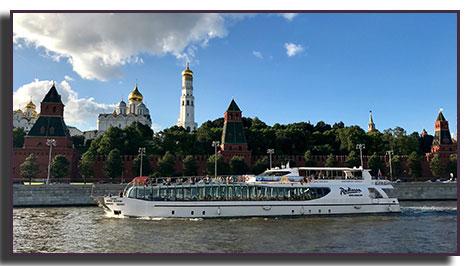 El kremlin desde el barco