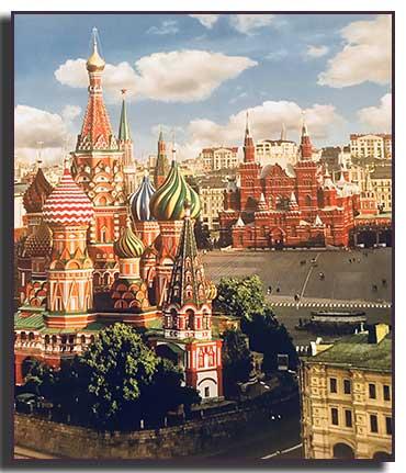 La Plaza Roja. Desde Rusia con Amor. Mis Viajes, Olga Marqués