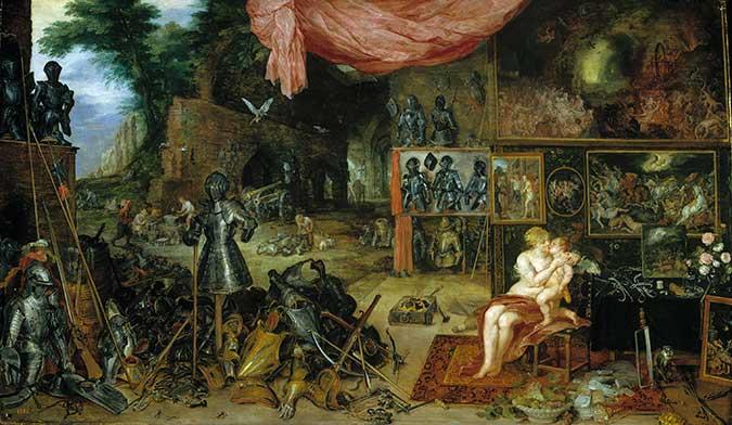 El tacto. BRUEGHEL El VIEJO/ RUBENS. Medicina, Piel y Arte. Olga Marqués Serrano