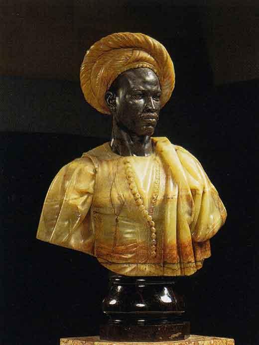 Negro de Sudán. Charles Cordier. Medicina, Piel y arte. Una sección de Olga Marqués Serrano