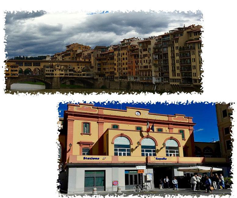 Un billete para Florencia. Fotos Rapallo. Un relato de Olga Marqués Serrano