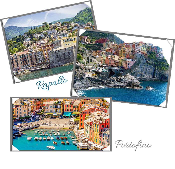 Un billete para Florencia. Fotos Rapallo