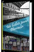 Un billete para Florencia. Portada de este relato de Olga Marqués