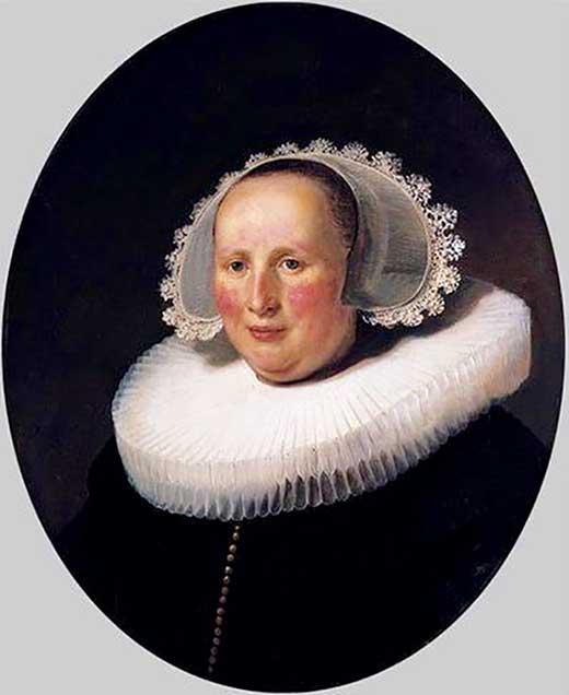 Retrato de Maertgen van Bilderbeecq, 1633. Rembrandt. Medicina Piel y arte. Una sección de Olga Marqués Serrano