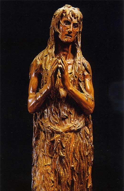 María Magdalena penitente. Medicina Piel y Arte. Una sección de Olga Marques