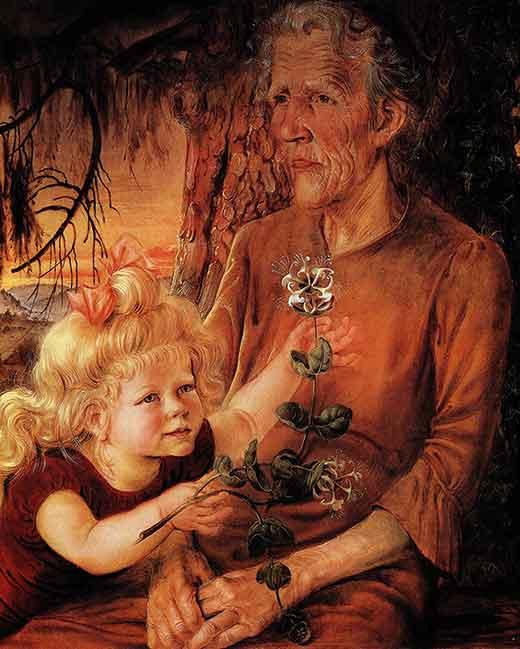 Madre y Eva. Otto Dix. Medicina, Piel y Arte. Olga Marqués