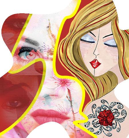 La piel decorada. Post 10 de la sección Medicina, piel y arte. Olga Marqués Serrano