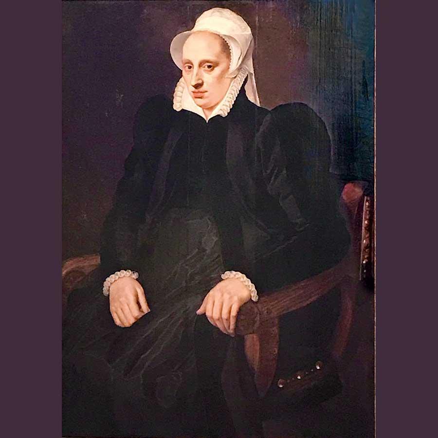 Imagen 18. ADRIAEN TOMASZ KEY. Retrato de una mujer, 1573