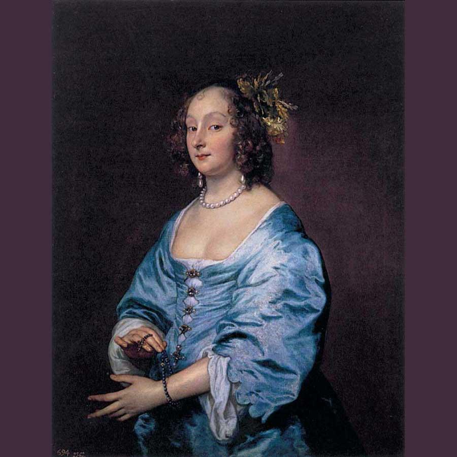 Imagen 20. ANTÓN VAN DYK. Maria Ruthven, 1639