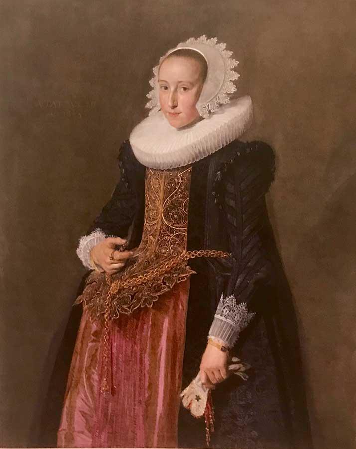 Imagen 22. Retrato de Aletta Hanemans, 1625