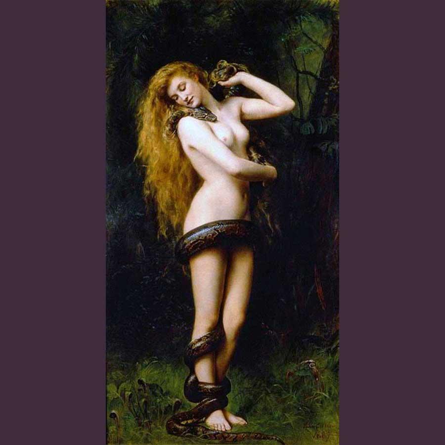 Imagen 8. JOHN COLLIER. Lilith, 1892